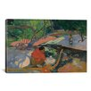 iCanvasArt 'Te Poipoi (Le Matin) 1892' by Paul Gauguin Painting Print on Canvas