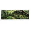 iCanvas Panoramic Yuzen-En Garden, Chion-In, Higashiyama Ward, Kyoto, Japan  Photographic Print on Canvas