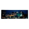 iCanvas Panoramic Temple Lit up at Night, Mormon Temple, Salt Lake City, Utah Photographic Print on Canvas