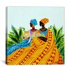 "iCanvasArt ""Two Sisters"" Canvas Wall Art by Keith Mallett"