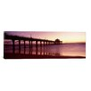 <strong>iCanvasArt</strong> Panoramic Manhattan Beach Pier, Manhattan Beach, Los Angeles County, California Photographic Print on Canvas