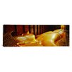 iCanvas Panoramic Thailand, Bangkok, Wat Po, Reclining Buddha Photographic Print on Canvas