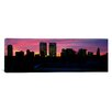 iCanvas Panoramic Silhouette of Buildings in a City, Century City, City of Los Angeles, California Photographic Print on Canvas