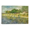 iCanvasArt 'The Banks of the Seine' by Vincent Van Gogh Painting Print on Canvas