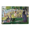 iCanvas 'Sunday Afternoon on the Island of La Grande Jatte' by Georges Seurat Painting Print on Canvas