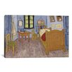 iCanvasArt 'The Bedroom at Arles 1889' by Vincent Van Gogh Painting Print on Canvas