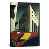 "iCanvas ""Turin Spring"" Canvas Wall Art by Giorgio de Chirico"