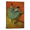 iCanvas 'Tanzerinnen an der Stange 1888' by Edgar Degas Painting Print on Canvas