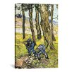 "iCanvas ""Two Men Digging Out a Tree Stump' by Vincent Van Gogh Painting Print on Canvas"