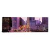 iCanvas Panoramic Twilight, Downtown, City Scene, Loop, Chicago, Illinois Photographic Print on Canvas