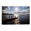 iCanvas 'Sunrise at Crooked Lake, Conway, Michigan '10' by Monte Nagler Photographic Print on Canvas