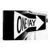 iCanvas 'Which Way (One Way)' by Bob Larson Photographic Print on Canvas