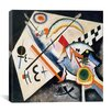 "<strong>iCanvasArt</strong> ""White Cross"" Canvas Wall Art by Wassily Kandinsky"
