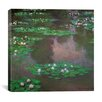 iCanvas Water Lilies 1 Canvas Wall Art