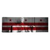 iCanvas Washington Flag, D.C, #3 Lincoln Memorial Graphic Art on Canvas