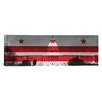iCanvas Flags Washington, D.C Capitol Building Panoramic Graphic Art on Canvas