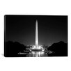 iCanvas Political Washington Monument Photographic Print on Canvas