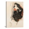 <strong>iCanvasArt</strong> 'Study for Judith ll' by Gustav Klimt Painting Print on Canvas