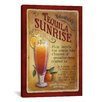 "<strong>iCanvasArt</strong> ""Tequila Sunrise"" Canvas Wall Art by Lisa Audit"