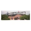iCanvas Panoramic Warren Spahn Plaza at the Chickasaw Bricktown Ballpark, Oklahoma City, Oklahoma Photographic Print on Canvas