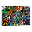 <strong>iCanvasArt</strong> Marvel Comics Character Full Lineup Graphic Art on Canvas