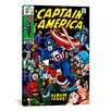 iCanvas Marvel Comics Book Captain America Issue Cover #112 Graphic Art on Canvas