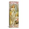 iCanvas Nestle's Food for Infants 1898 Canvas Wall Art by Alphonse Mucha