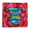 iCanvas Face First Canvas Print Wall Art