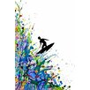 iCanvasArt 'A Pollock's Point Break' by Marc Allante Painting Print on Canvas