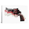iCanvasArt Michael Thompsett Revolver II Canvas Print Wall Art