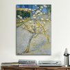 <strong>iCanvasArt</strong> 'Pear Tree in Blossom' by Vincent Van Gogh Painting Print on Canvas