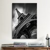 <strong>iCanvasArt</strong> 'Eiffel Tower Study II' by Moises Levy Photographic Print on Canvas
