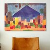 <strong>iCanvasArt</strong> Egyptian Night (Notte Egiziana) by Paul Klee Painting Print on Canvas