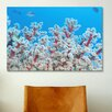 iCanvasArt Marine and Ocean Red and White Gorgonian Coral Photographic Print on Canvas