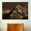 <strong>iCanvasArt</strong> 'Louvre' by Sebastien Lory Photographic Print on Canvas