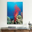 iCanvas Marine and Ocean Red Coral Photographic Print on Canvas
