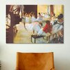 iCanvas Ecole De Danse (Dance School) by Edgar Degas Painting Print on Canvas
