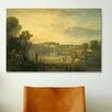 <strong>iCanvasArt</strong> 'Pope's Villa at Twickenham' by Jospeh William Turner Painting Print on Canvas