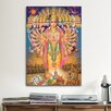 iCanvas Hindu God Vishnu as Virat Swaroop Painting Print on Canvas