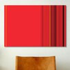 iCanvas Ferrari Striped Graphic Art on Canvas