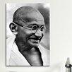 iCanvas Political Gandhi Portrait Photographic Print on Canvas