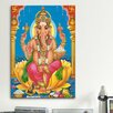 iCanvas Religion and Spirituality Ganesha Hindu God Painting Print on Canvas