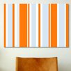 iCanvas Striped Art Grand Prix Baby Graphic Art on Canvas