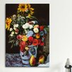 iCanvas 'Flowers in a Vase' by Pierre-Auguste Renoir Painting Print on Canvas