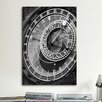 iCanvas 'Astronomic Watch Praha 11' by Moises Levy Photographic Print on Canvas