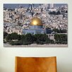 iCanvasArt Islamic Dome of the Rock on Temple Mountain, Jerusalem Photographic Print on Canvas