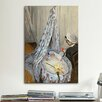 iCanvasArt 'Jean Monet in His Cradle' by Claude Monet Painting Print on Canvas