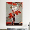 iCanvasArt 1914 Oriental Red, George Barbier Vintage Advertisement on Canvas