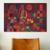 iCanvas 'Castle and Sun' by Paul Klee Painting Print on Canvas