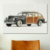 iCanvasArt Cars and Motorcycles 1941 Chrysler Town & Country Photographic Print on Canvas